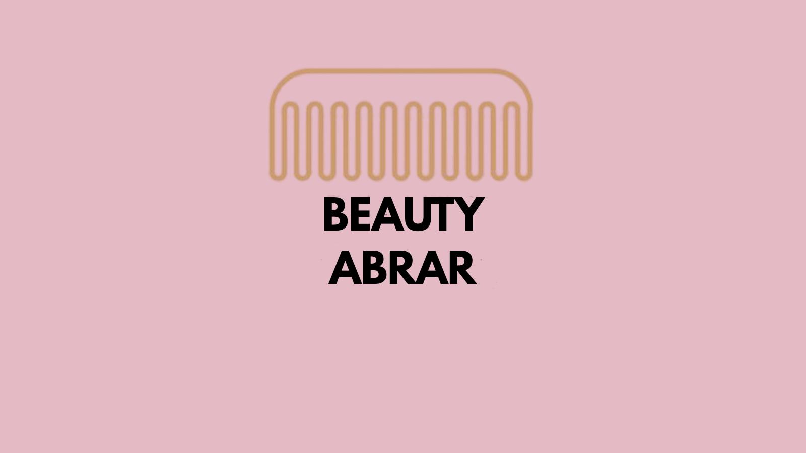 beauty abrar/m